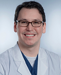 Image of Nickolaus Escobedo, RN, MSN, OCN<sup>®</sup>, NE-BC