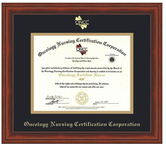 certificate frame oncc purchase every tree